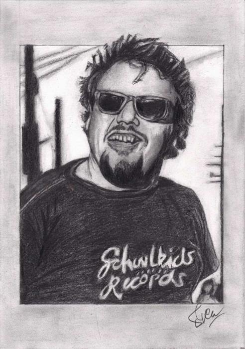 D. Boon (Minutemen). Grafiet (2013)