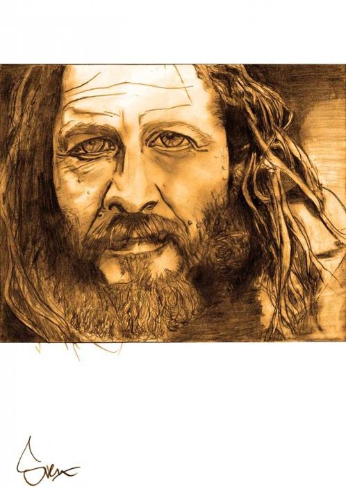Tony Alva tekening (grafiet) / drawing (graphite)