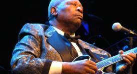 Blues legend BB King in Ahoy, Rotterdam (Sven Bakker)