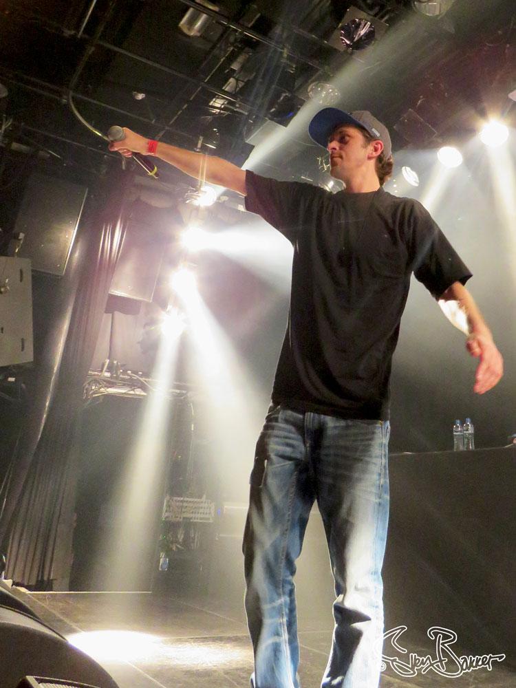 Spinal @ Def P Album realease 30xPi @ De Melkweg, Amsterdam (Sven Bakker)