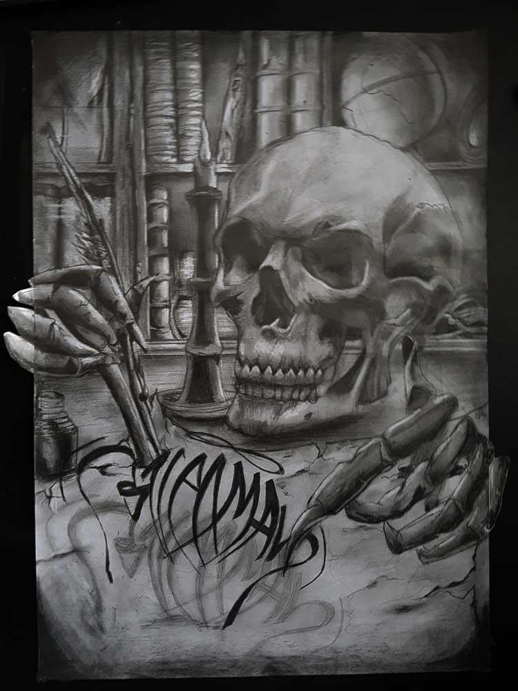 tattoo  graffiti designs and portrait drawings by sven bakker