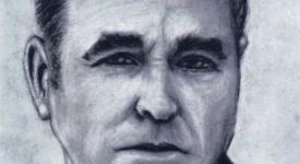 Morrissey charcoal drawing (Sven Bakker)