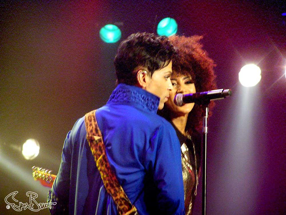 Andy Allo met Prince @ North Sea Jazz Festival, Ahoy, Rotterdam (Sven Bakker)
