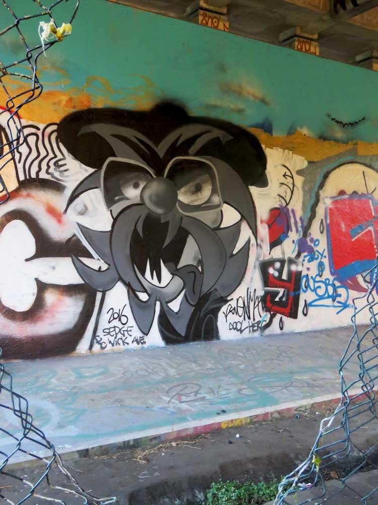 Svenimal DJ Kool Herc graffiti Amsterdam (Sven Bakker)
