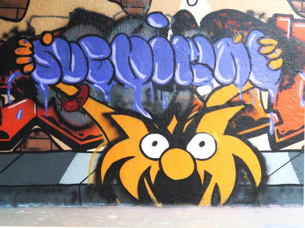 Zesde Svenimal graffiti Amsterdam (Sven Bakker)
