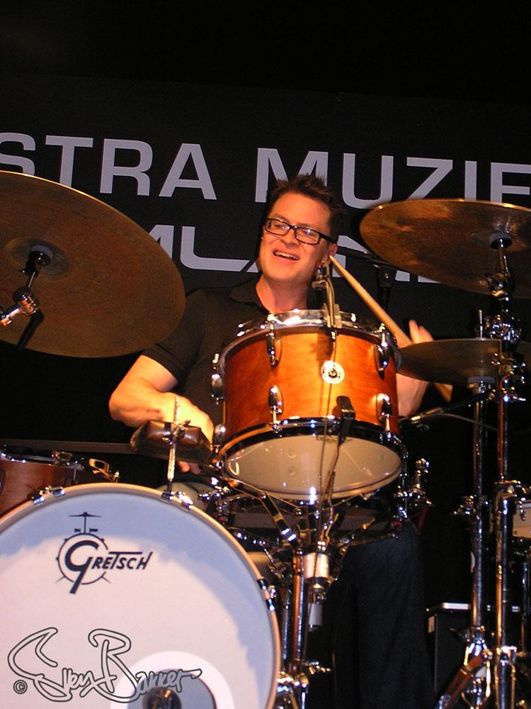 Stanton Moore @ Drumland, Lijnden (Sven Bakker)