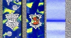 Enige echte Urban Dance Squad - skateboard (acryl)